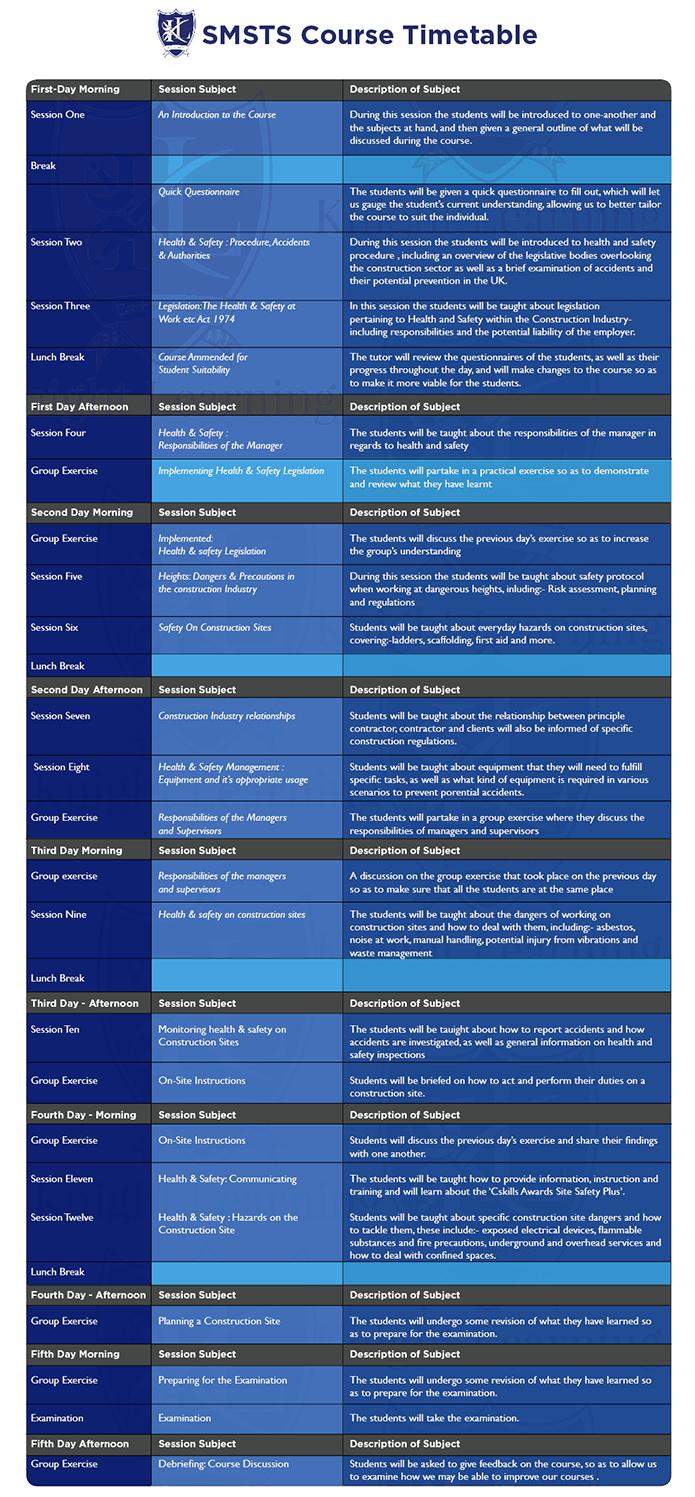SMSTS-Heathrow-timetable